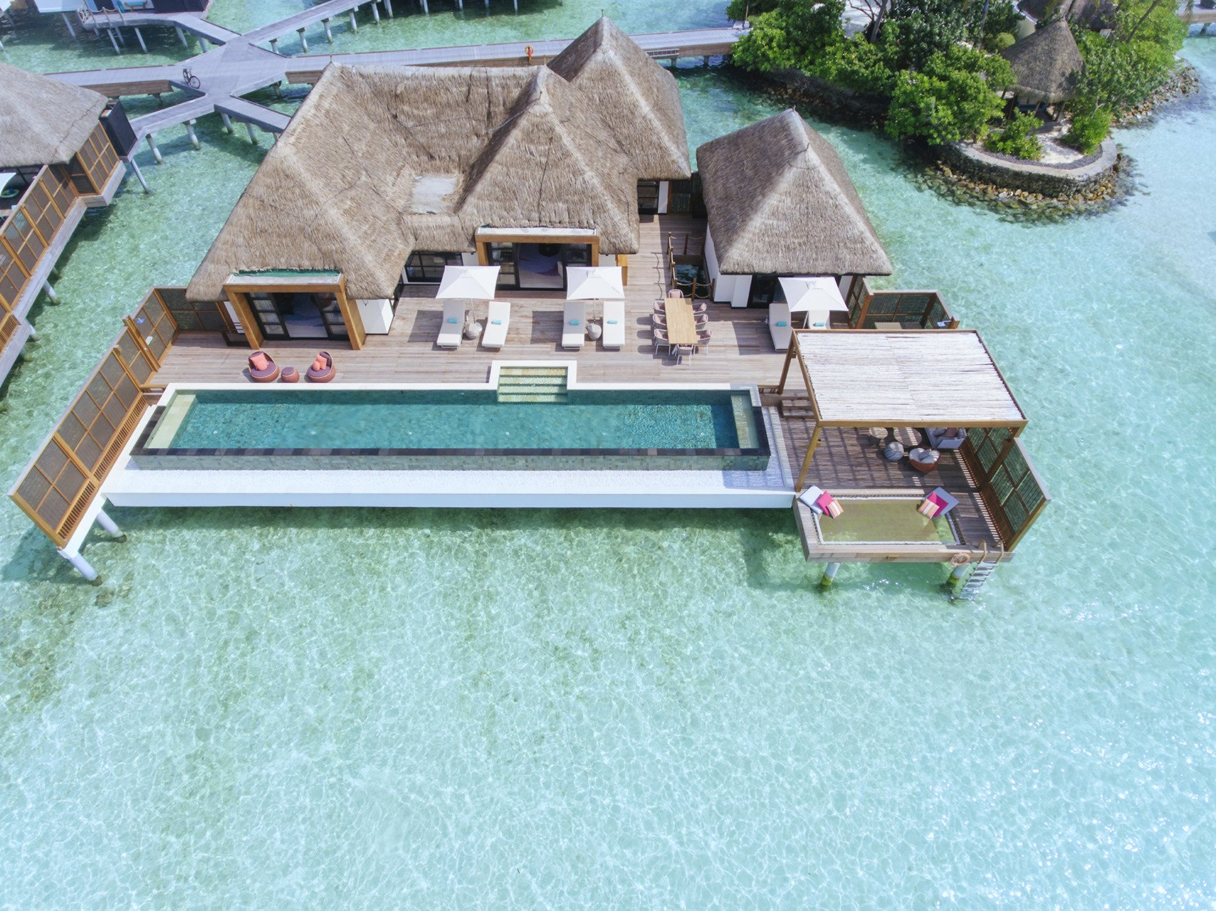 Three-Bedroom Water Suite