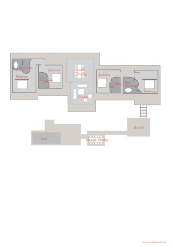 Floorplan of andBeyond Matetsi River House